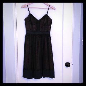 Laundry Black Silk Dress